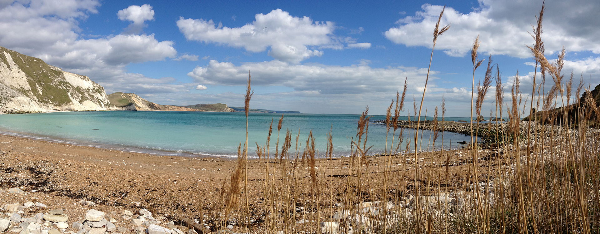 Mupe Bay on the Jurassic Coast is a favourite walk from The Pink House Lulworth