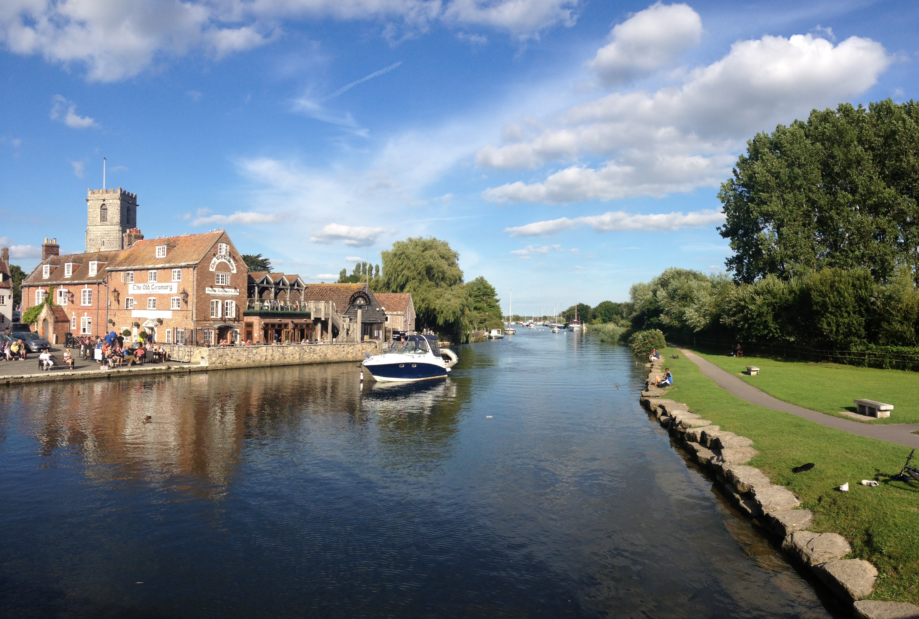 Wareham Quay by The Pink House Lulworth