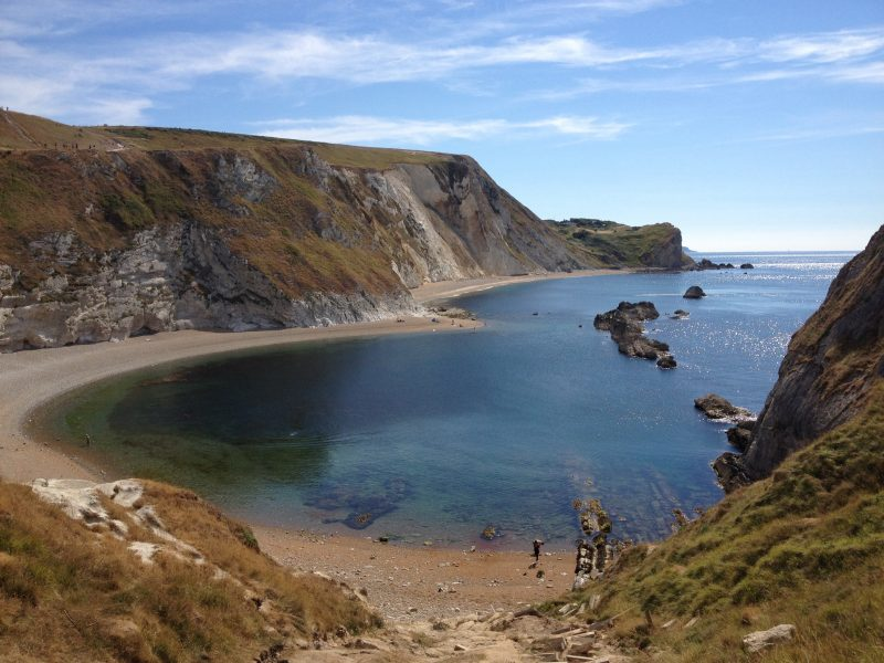 Man O War Bay beside Durdle Door