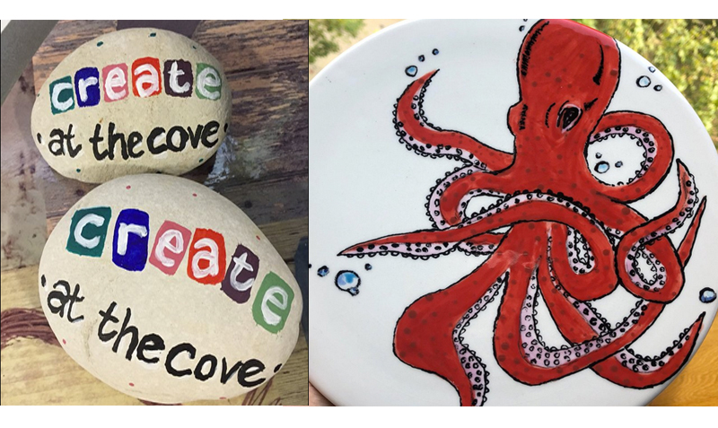 craftmaking for all ages with Create at the Cove Lulworth